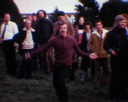 A Still from [Fete; Welly-Wanging] (ca.1974)