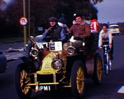A Still from London to Brighton Vintage Car Rally (c.1974)