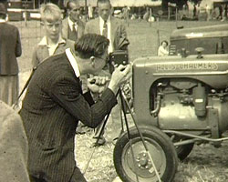A still from 'Agricultural Show' (1950s)