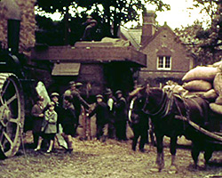 A still from [Horses; Mechanised Farming]  (1937)