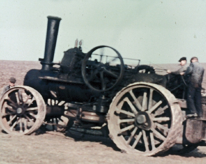 A Still from [Traction engine with Cultivator; Lambs; Foals] (1938)