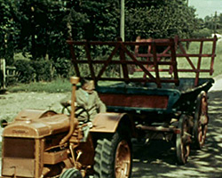 A still from [Lamb Tailing; Children; Fordson Tractor] (1938)