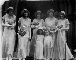A still from [Wedding] (1920s)
