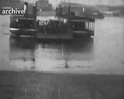 A still from 'Southampton Ferry (1920s)
