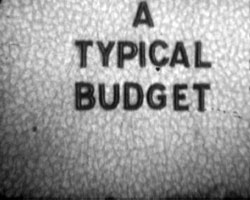 A Still from A Typical Budget [West Sussex News Items] (1930s)