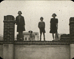A still from [Children on Roof at Saltdean] (1941)