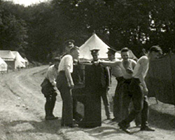 [Leisure Scenes at Camp; Games and Frolics] (1930s)
