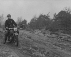 Army vs. N.F.S. Dispatch Riders Training Trial, Nov. 26, 1944