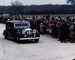 A still from [Princess Elizabeth �Royal Visit to Crawley�] (1950)
