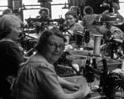 [Conference; Trip to Clothing Factory; Dunford Shop] (1949)