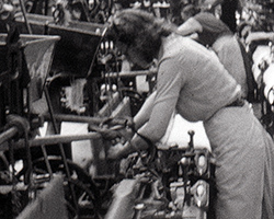 A still from [Small Lancashire Cotton Mill] (1942)