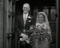A still from [Mr and Mrs Corder Wedding and Honeymoon] (1935)