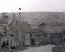 A still from [Hereford Cathedral; Churches; Cat; Rural and Coastal Views] (ca.1930s)