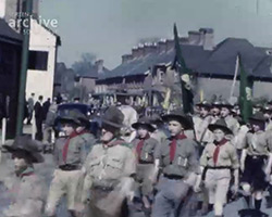 A Still from [St George's Day Parade at Handcross and Slaugham] (1951)