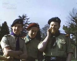 A Still from [Parade; Camp; South Downs Hike] (1953)