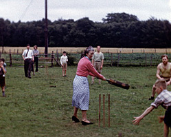 a still from [Scout Camp; Cricket] (1954)